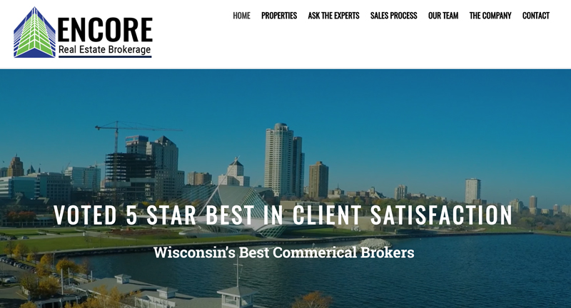 ENCORE Real Estate Brokerage | Wisconsin's Best Commerical Brokers | Milwaukee, WI 2018-07-25 13-07-54